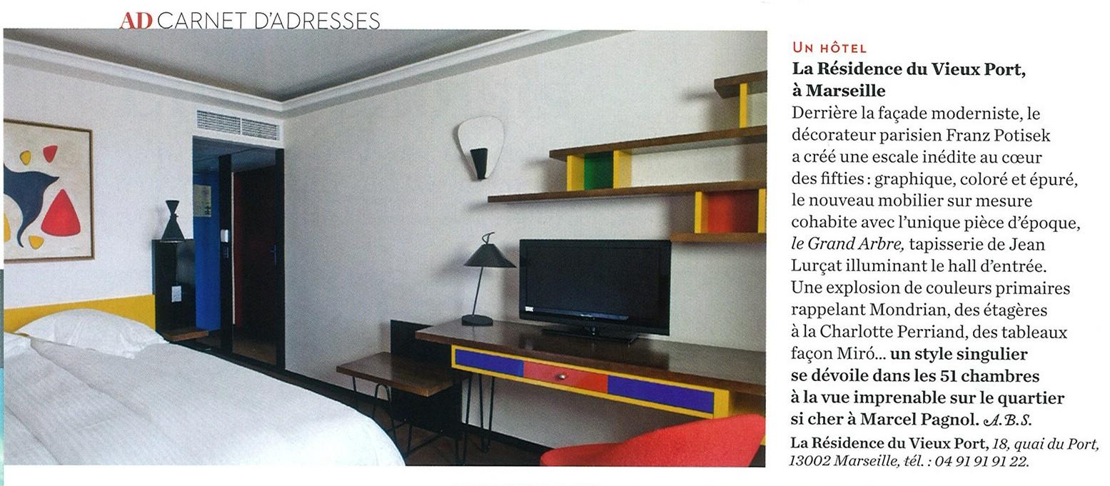 Kulte la r sidence du vieux port ad magazine - Hotel relais du vieux port le conquet ...