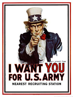 Zio Sam,I want you for usa army