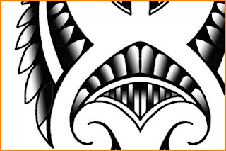 maori tattoo lower arm design for sale