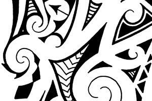 buy maori shoulder tatoo flash
