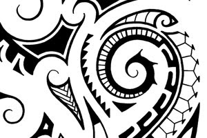 maori shoulder tattoos