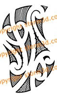 koru forearm maori tattoo design