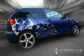 maori tribal car sticker design buy for sale