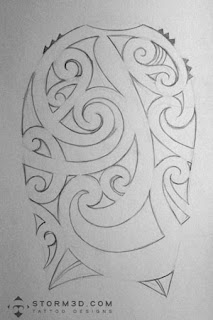 outline maori tattoo robbie williams flash