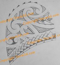 arrowhead tatoo design maori