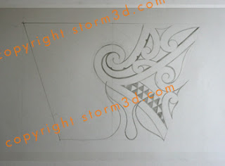 tribal flames tattoo arm design sketches