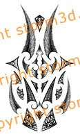 maori forearm feathers tattoo design