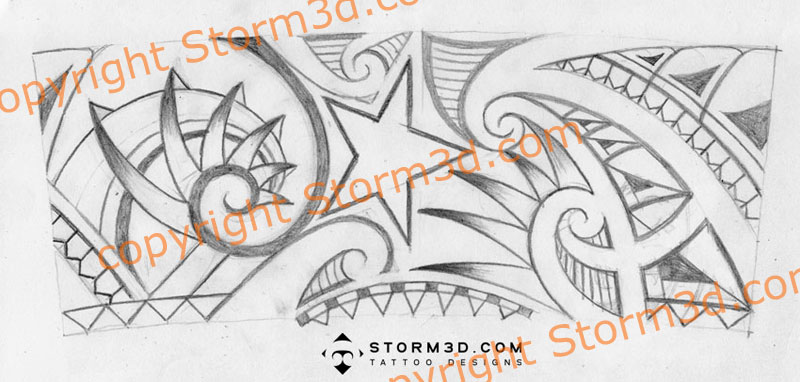 Innovative Tribal Tattoos Designs. by Tribal Tattoo | Tribal Tattoo Gallery This is the final sketch and the high resolution design: