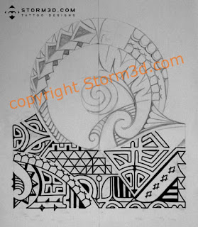 dwayne johnson polynesian tattoo designs