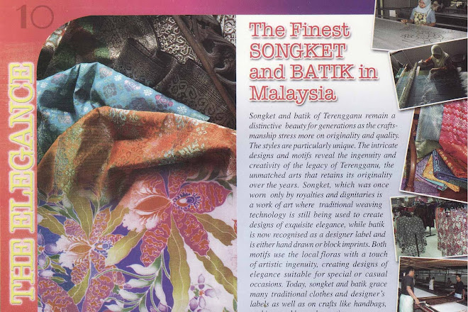 THE FINEST SONGKET AND BATIK IN MALAYSIA