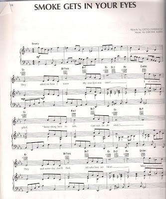 partituras para flauta. El tono es el de la partitura