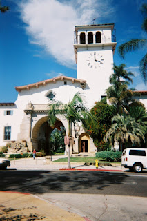 Santa Barbara County Historic Courthouse's Tower