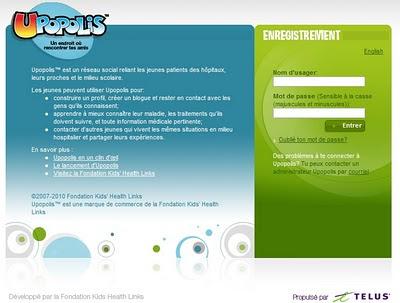 Upopolis home page