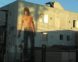 Jim Morrison Wall Painting, Venice Beach, California