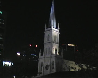 Chijmes by night, Singapore
