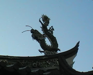 Thian Hock Keng Temple singapore, dragons