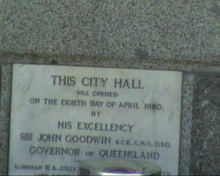 brisbane city hall inauguration 1930