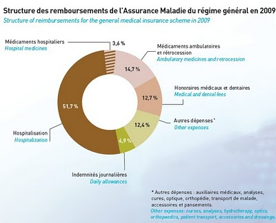 bilan leem Structure des remboursements de l'Assurance Maladie du régime général en 2009 6 Structure of reimbursements for the general medical insurance scheme in 2009