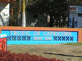 Tropic of Capricorn, Rockhampton, Central Queensland, Australia