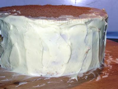 Ganache auf Torte