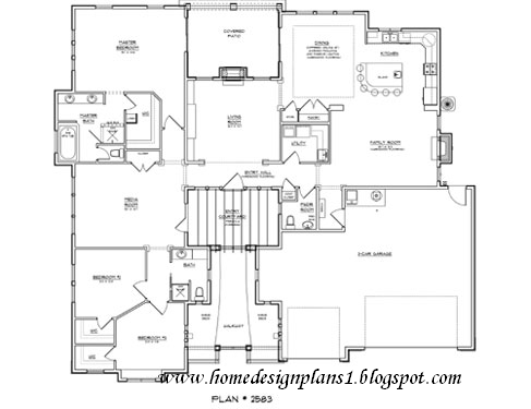 Western home floor plans home design and style for Western homes floor plans