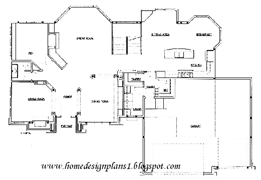 Home Office Design Floor Plans