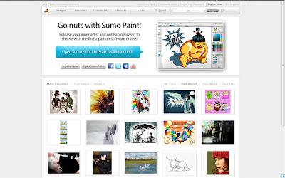Sumopaint - Editor de Imagens online