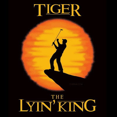tiger woods lying musical