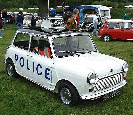 Manchester Bpolice car