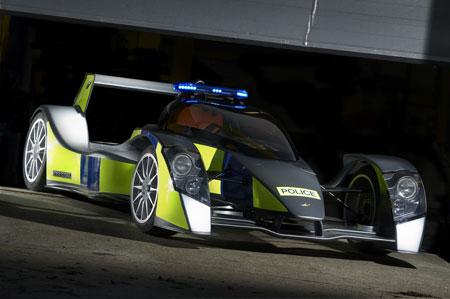 caparo t1 police car concept