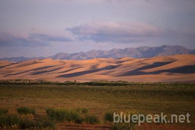 Mongolian Gobi Desert