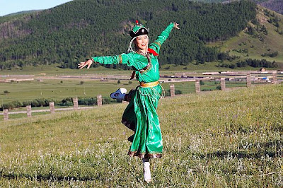 Mongolian Beautiful Women