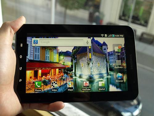 Harga Samsung Galaxy Tab dan Spesifikasi - Sangsung Galaxy akhirnya di