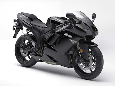 here is 2008 black kawasaki ninja zx6r. Here is Ninja ZX-6R Monster Energy