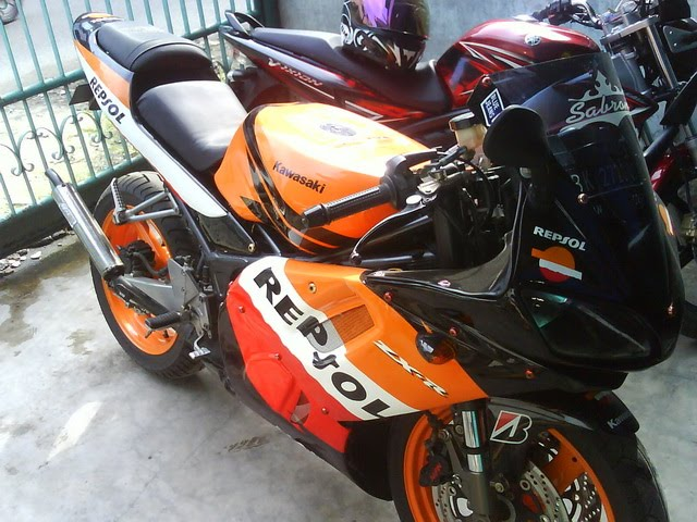 Photo Modifikasi Ninja Krr 150