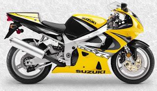 2000 GSX-R750 Y