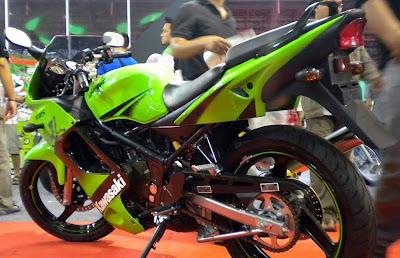 New Kawasaki Ninja 150RR