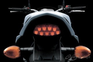 Suzuki GSR 750 rear lamp