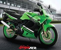 kawasaki ninja 150 rr green