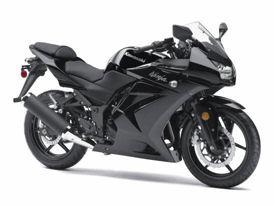 2011 Kawasaki Ninja 250r With New Black Muffler