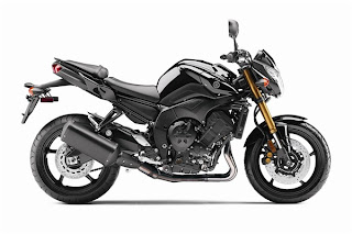2011 Yamaha FZ8 side