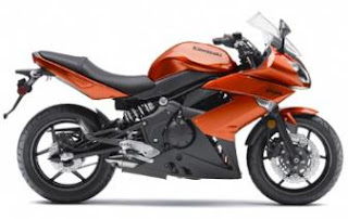 2011 Kawasaki Ninja 650R orange