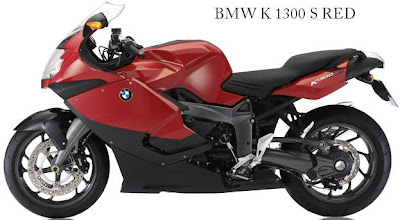 BMW K 1300 S Red