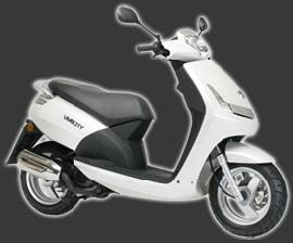 Scooter Peugeot 125 - VIVACITY 125cc white