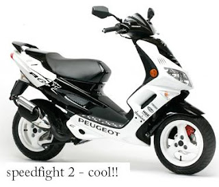 Peugeot Speedfight 2 50cc left