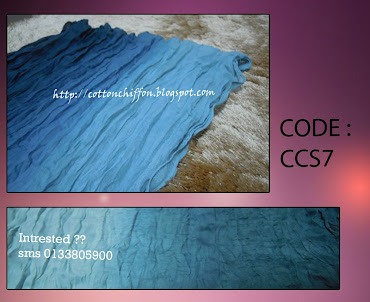 ~~ Colorful Crumpled Shawl- CS7~~only RM20 inc. postage
