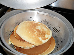 Thomas' Homemade Pancakes he made for our first Pancake Run!