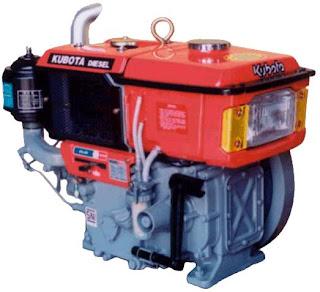 engine kubota vertical/horizontal