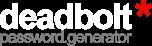 Deadbolt Password Generator Blog
