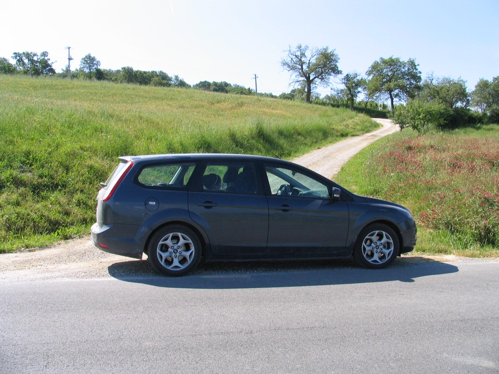 italy rental car: